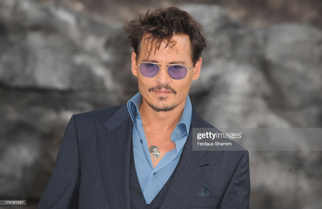 Jonny Deep attends the UK premiere of 'The Lone Ranger' at Odeon Leicester Square on July 21, 2013 in London, England.