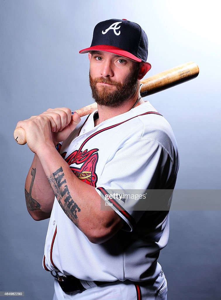 <a gi-track='captionPersonalityLinkClicked' href=/galleries/search?phrase=Jonny+Gomes&family=editorial&specificpeople=568435 ng-click='$event.stopPropagation()'>Jonny Gomes</a> #7 of the Atlanta Braves poses for a portrait on March 2, 2015 at Champion Stadium in Lake Buena Vista, Florida.