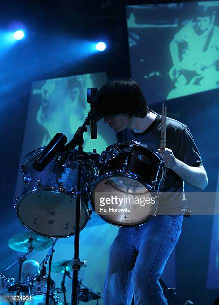 Jonny Greenwood of Radiohead during Bonnaroo 2006 Day 2 Radiohead at What Stage in Manchester Tennessee United States