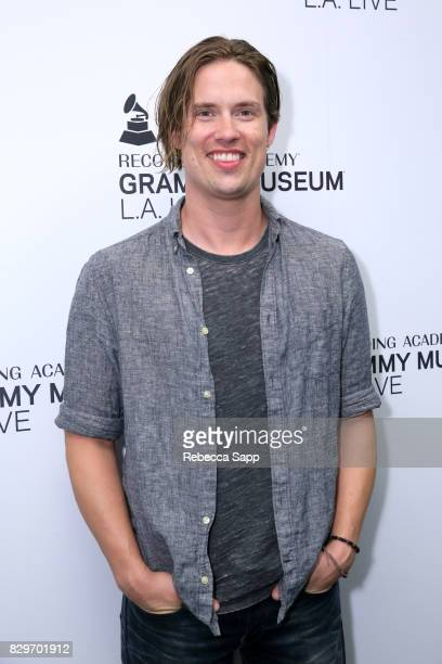 Jonny Lang attends The Drop Jonny Lang at The GRAMMY Museum on August 10 2017 in Los Angeles California