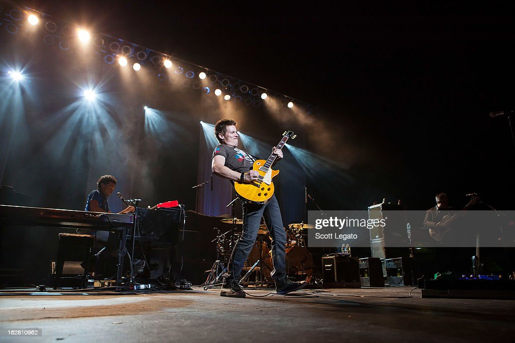 Jonny Lang performs at the Fox Theatre on February 27, 2013 in Detroit, Michigan.