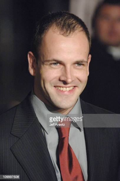 Jonny Lee Miller during Paramount Pictures' Aeon Flux Los Angeles Premiere Arrivals at Cinerama Dome in Los Angeles California United States