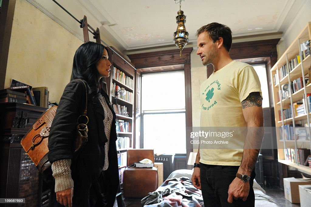 Jonny Lee Miller (right) stars as Sherlock Holmes and Lucy Liu (left) stars as Watson on ELEMENTARY, airing Thursday nights,(10:00-11:00 PM ET/PT) on the CBS Television Network. This photo is provided for use in conjunction with the TCA
