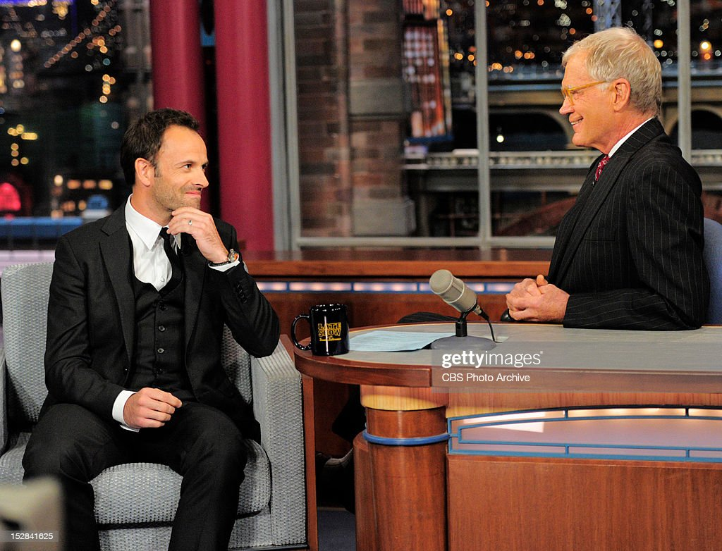 Jonny Lee Miller Talks with Late Show host David Letterman about his role as Sherlock Holmes in the new CBS show ELEMENTARY that will premier on Thursday.