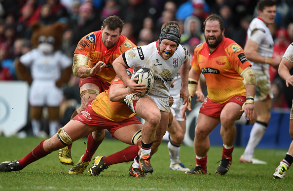 Guinness Pro12 - Ulster Rugby v Scarlets : News Photo