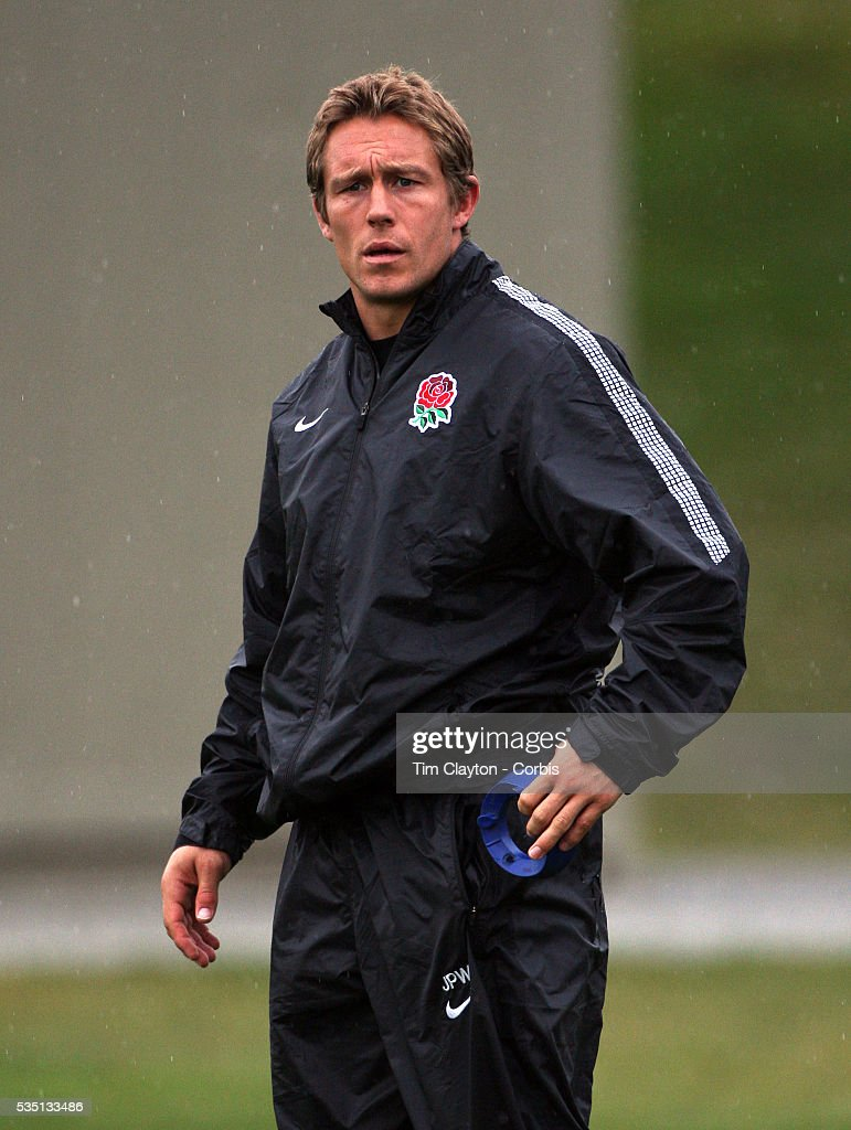 Jonny Wilkinson during the English Rugby team training session at the Queenstown Events Centre in preparation for their match with Georgia during the...