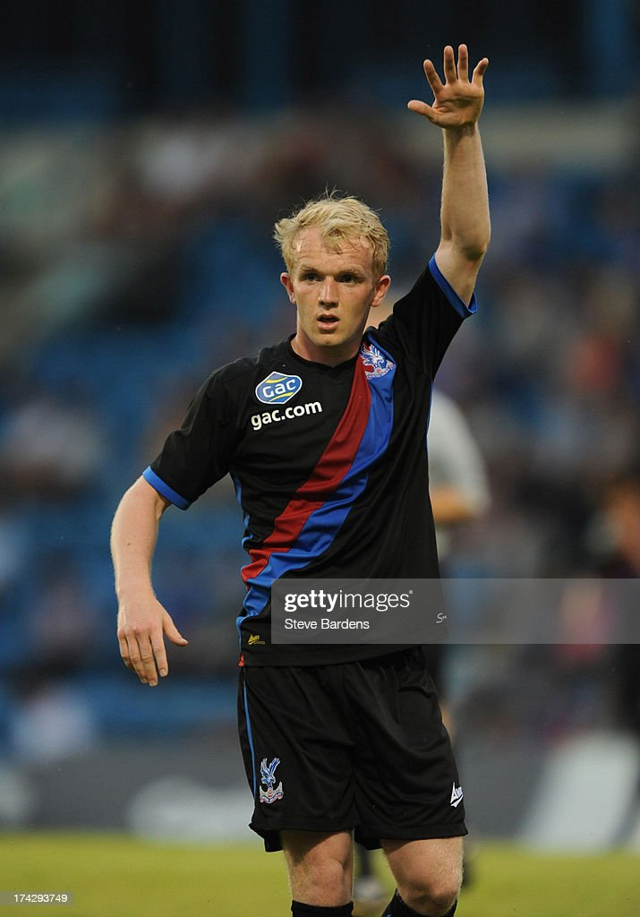 Jonny Williams of Crystal Palace during the pre season friendly match between Gillingham and Crystal Palace at Priestfield Stadium on July 23, 2013 in Gillingham, Medway.