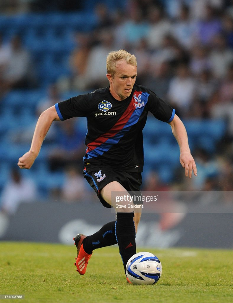 Jonny Williams of Crystal Palace in action during the pre season friendly match between Gillingham and Crystal Palace at Priestfield Stadium on July 23, 2013 in Gillingham, Medway.