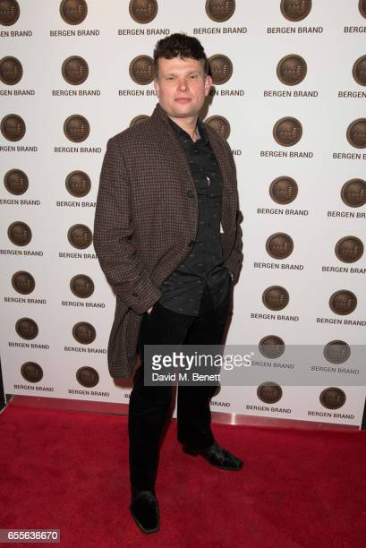 JonPaul Gates attends the Bergen Brand Handbag launch at Wolf Badger on March 16 2017 in London England