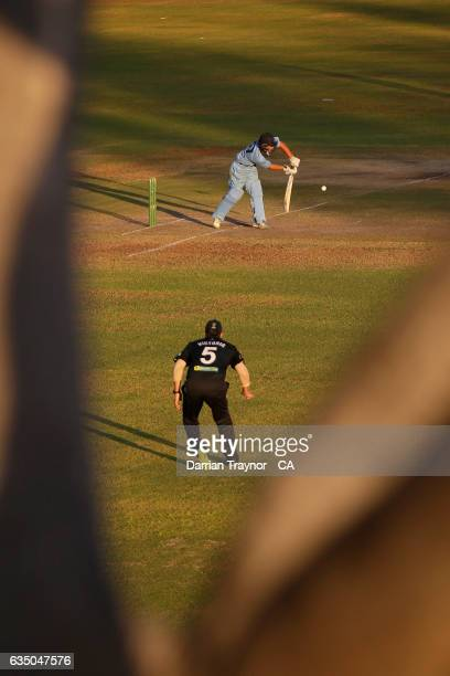 Jonte Pattison of New South Wales bats during the National Indigenous Cricket Championships Final between New South Wales and Victoria on February 13...