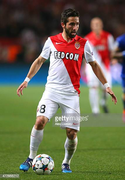 João Moutinho of Monaco during the UEFA Champions League quarterfinal second leg match between AS Monaco FC and Juventus at Stade Louis II on April...