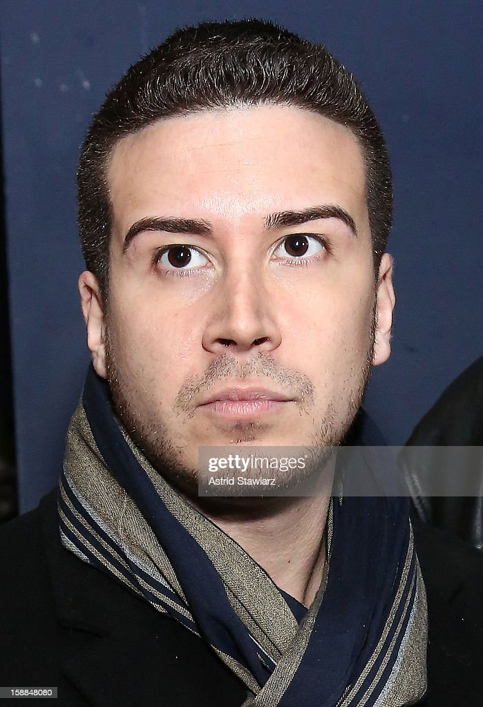 Joonbug's New Year's Eve 2013 Celebration With <a gi-track='captionPersonalityLinkClicked' href=/galleries/search?phrase=Vinny+Guadagnino&family=editorial&specificpeople=6693900 ng-click='$event.stopPropagation()'>Vinny Guadagnino</a> is held at AMC 34th Street on December 31, 2012 in New York City.