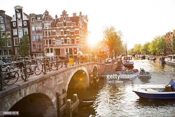 Jordaan district of Amsterdam, Netherlands