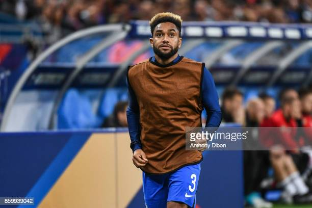 Jordan Amavi of France during the Fifa 2018 World Cup qualifying match between France and Belarus on October 10 2017 in Paris France