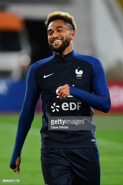 Jordan Amavi of France during the training session of the France football team ahead the World Cup qualifying match against Bulgaria on October 6...