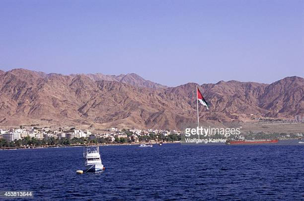 Jordan Aqaba Red Sea View Of City
