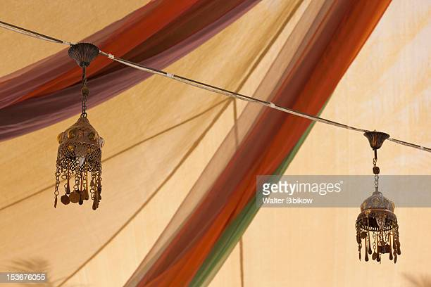 Jordan, Aqaba, traditional Arab lamp
