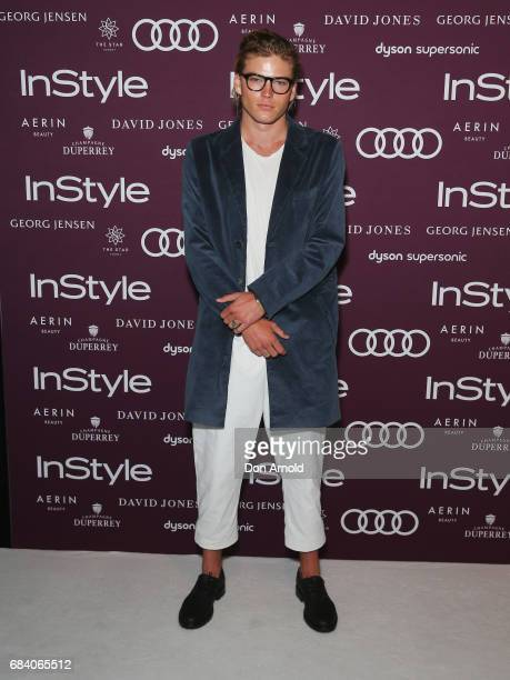 Jordan Barrett arrives ahead of the Women of Style Awards at The Star on May 17 2017 in Sydney Australia