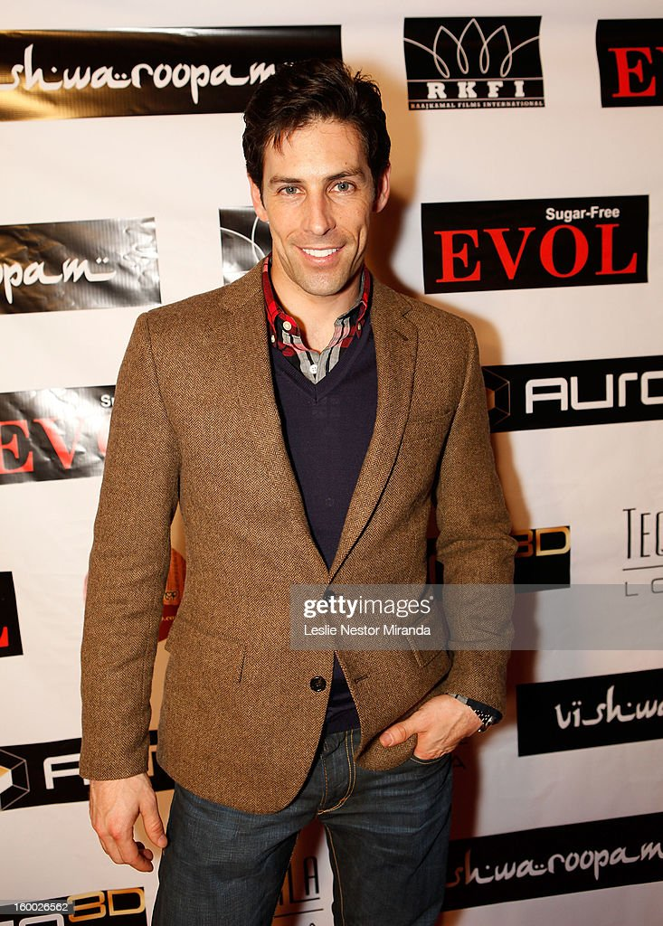 Jordan Belfi attends the World Premiere of 'Vishwaroopam' held at Pacific Theaters at the Grove on January 24, 2013 in Los Angeles, California.