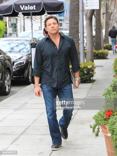 Jordan Belfort is seen on March 21 2017 in Los Angeles California
