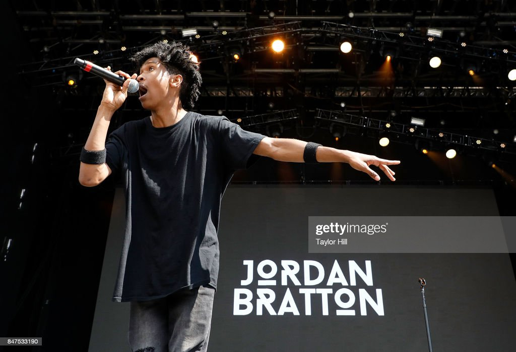 Jordan Bratton performs onstage during Day 1 of The Meadows Music & Arts Festival at Citi Field on September 15, 2017 in New York City.