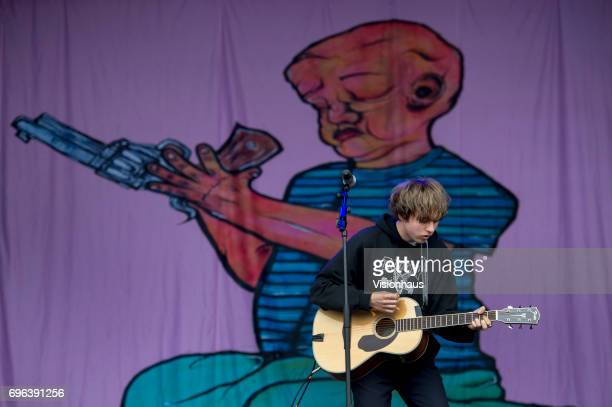 Jordan Cardy also known as Rat Boy performs at The Parklife Festival 2017 at Heaton Park on June 10 2017 in Manchester England