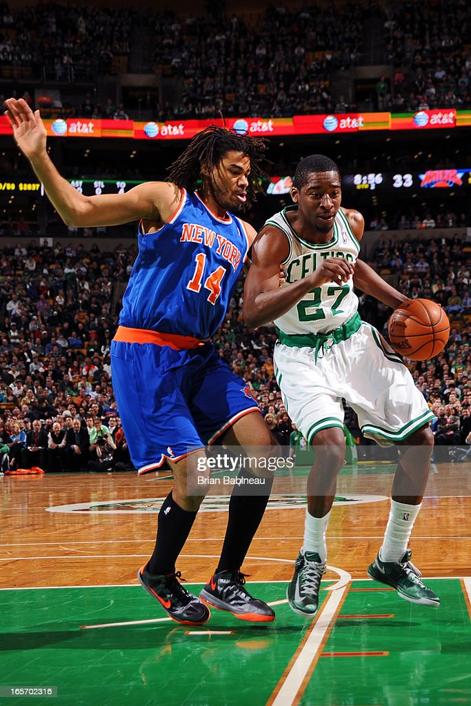 <a gi-track='captionPersonalityLinkClicked' href=/galleries/search?phrase=Jordan+Crawford&family=editorial&specificpeople=4779380 ng-click='$event.stopPropagation()'>Jordan Crawford</a> #27 of the Boston Celtics drives to the basket against the New York Knicks on March 26, 2013 at the TD Garden in Boston, Massachusetts.