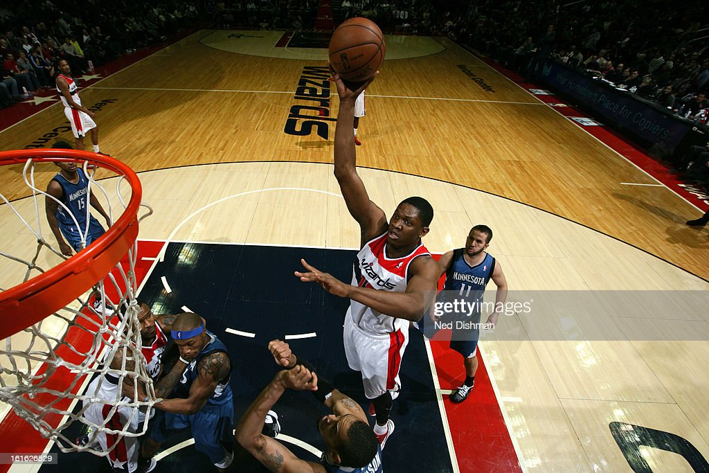 <a gi-track='captionPersonalityLinkClicked' href=/galleries/search?phrase=Jordan+Crawford&family=editorial&specificpeople=4779380 ng-click='$event.stopPropagation()'>Jordan Crawford</a> #15 of the Washington Wizards puts up a shot against the Minnesota Timberwolves at the Verizon Center on January 25, 2013 in Washington, DC.