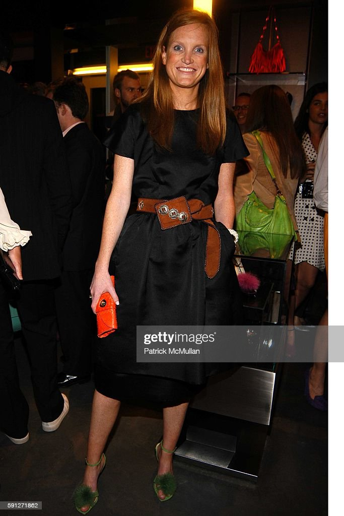 Jordan Daly attends Madison Avenue Where Fashion Meets Art Presents Neon In honor of Sylvie Fleury at Yves Saint Laurent on April 28 2005 in New York...