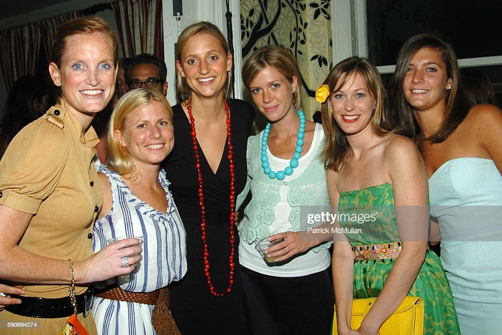 Jordan Daly Dominga Gardner Katie Bartle Nicole Pedersen and attend An Evening of Short Films hosted by Jack Spade at The National Arts Club on July...