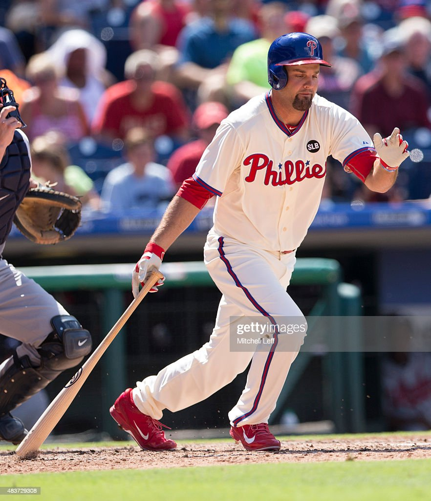 <a gi-track='captionPersonalityLinkClicked' href=/galleries/search?phrase=Jordan+Danks&family=editorial&specificpeople=2364706 ng-click='$event.stopPropagation()'>Jordan Danks</a> #15 of the Philadelphia Phillies bats in the game against the Atlanta Braves on August 2, 2015 at the Citizens Bank Park in Philadelphia, Pennsylvania.