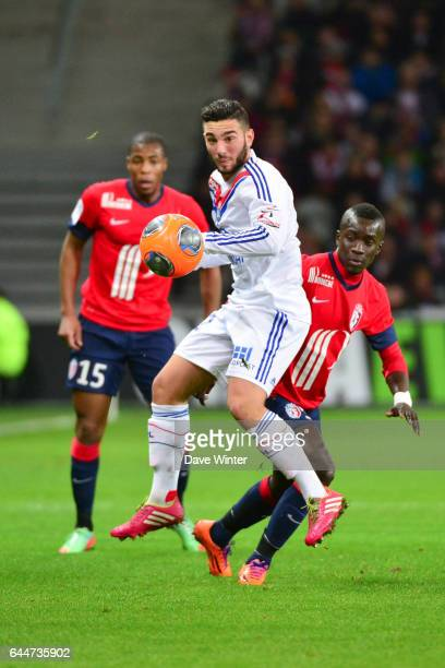 Jordan FERRI Lille / Lyon 26eme journee de Ligue 1 Photo Dave Winter/ Icon Sport