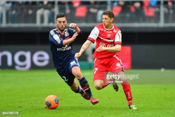 Jordan FERRI / Maor MELIKSON Valenciennes / Lyon 32eme journee de Ligue 1 Photo Dave Winter / Icon Sport