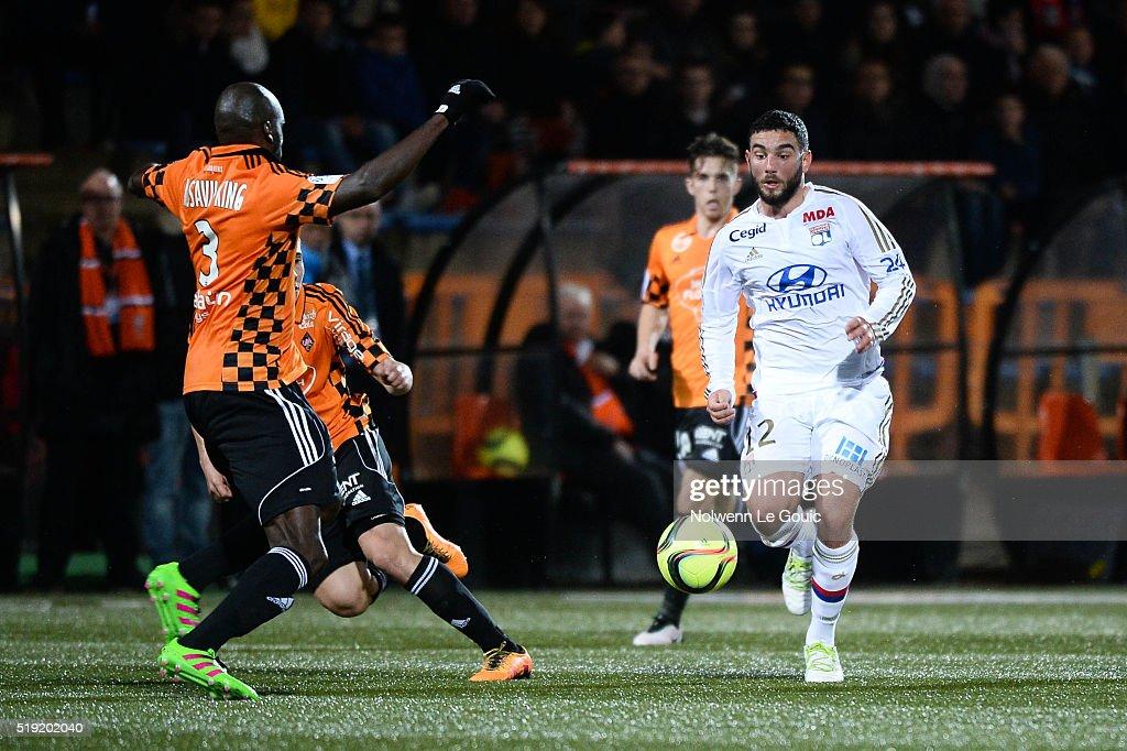 Fc lorient v olympique lyonnais ligue 1 getty images for Lorient match