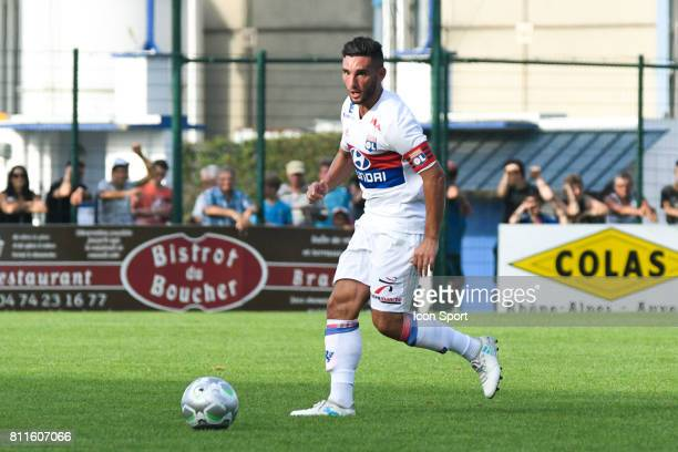 Jordan Ferri of Lyon during the friendly match between Olympique Lyonnais and BourgenBresse on July 8 2017 in Peronnas France