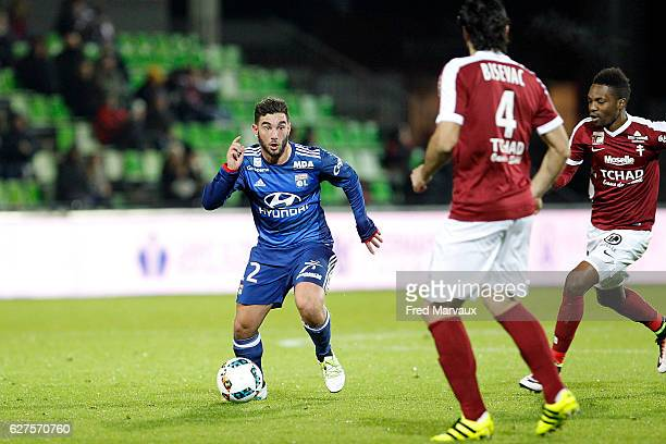 Jordan Ferri of Lyon during the Ligue 1 match between FC Metz and Olympique Lyonnais at Stade SaintSymphorien on December 3 2016 in Metz France