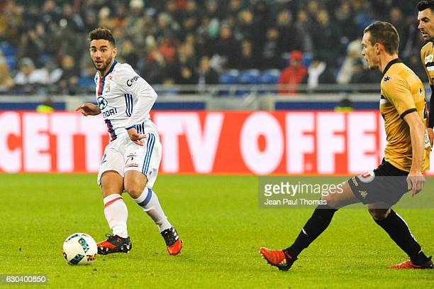 Jordan FERRI of Lyon during the Ligue 1 match between Olympique Lyonnais and SCO Angers at Stade de Gerland on December 21 2016 in Lyon France