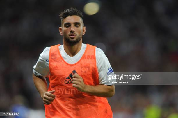 Jordan Ferri of Lyon during the Ligue 1 match between Olympique Lyonnais and Strasbourg at Parc Olympique on August 5 2017 in Lyon