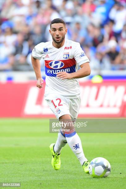 Jordan Ferri of Lyon during the Ligue 1 match between Olympique Lyonnais and EA Guingamp at Parc Olympique on September 10 2017 in Lyon France