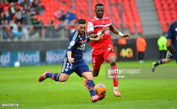 Jordan FERRI / Tongo Hamed DOUMBIA Valenciennes / Lyon 32eme journee de Ligue 1 Photo Dave Winter / Icon Sport