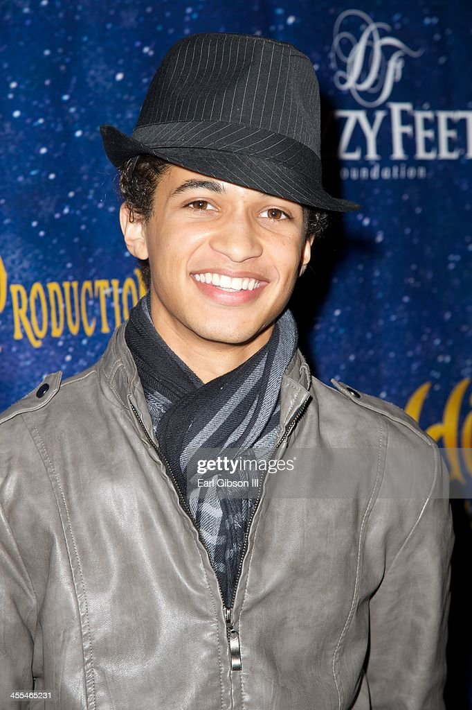 Jordan Fisher attends and stars in 'Aladdin And His Winter Wish' Opening Night at Pasadena Playhouse on December 11, 2013 in Pasadena, California.