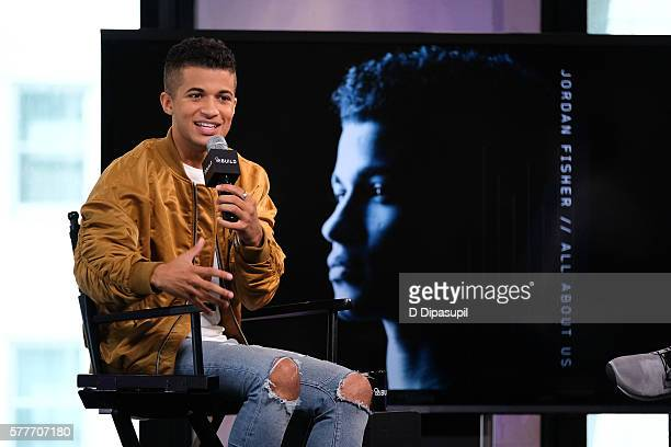 Jordan Fisher attends the AOL Build Speaker Series to discuss his new single 'All About Us' at AOL HQ on July 19 2016 in New York City
