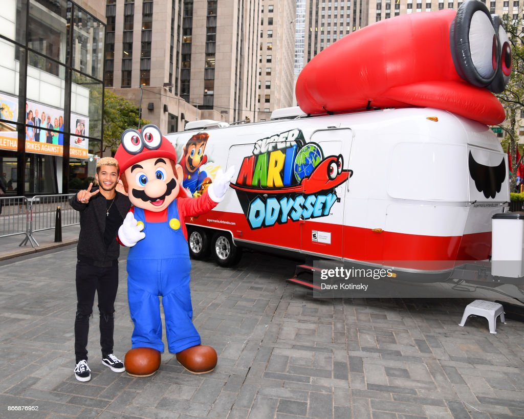 Super Mario Odyssey Launch Event Co-Hosted by Jordan Fisher