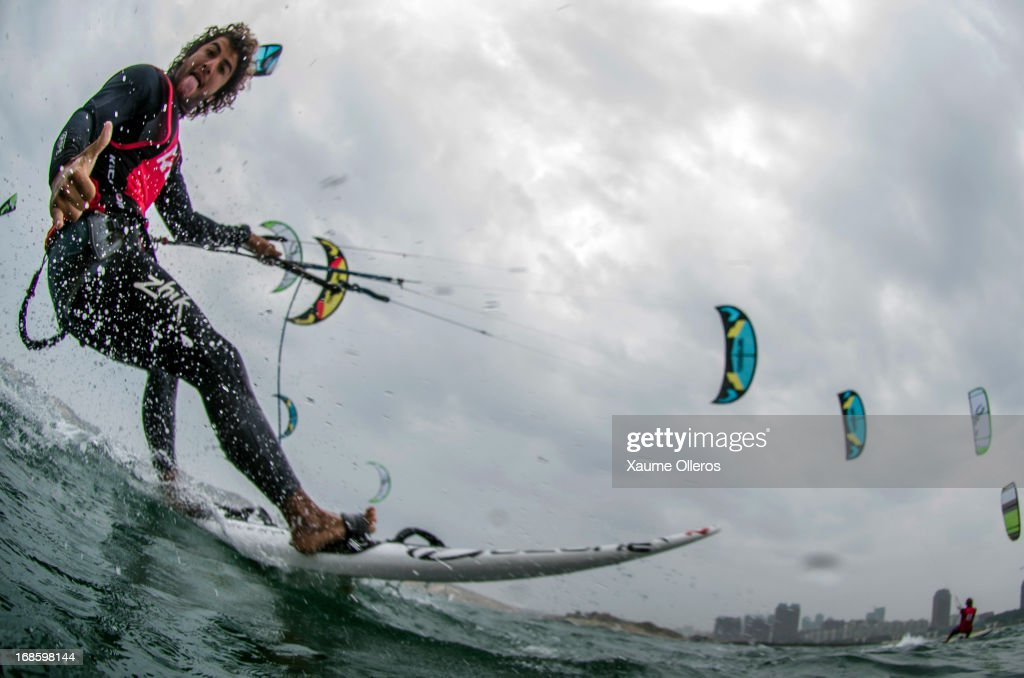 Jordan Girdis of Australia competes on raceboards during day four of the KTA Series on Pingtan Island on May 12, 2013 in Fuzhou, China.