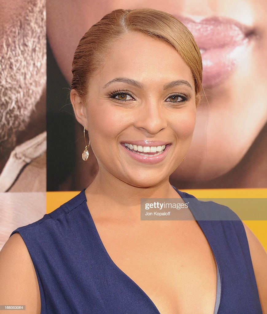Jordan Hall arrives at the Los Angeles Premiere 'Peeples' at ArcLight Hollywood on May 8, 2013 in Hollywood, California.