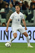 Jordan Henderson of England in action during the international friendly match between Italy and England on March 31 2015 in Turin Italy