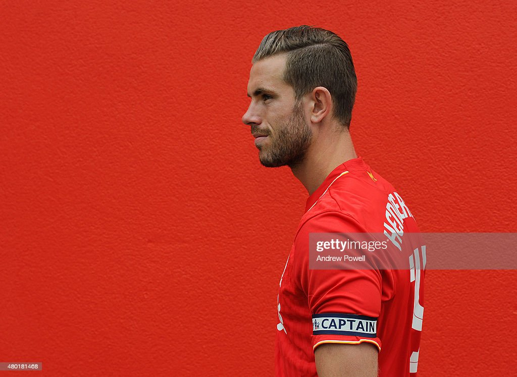 Jordan Henderson of Liverpool is appointed new captain on July 10 2015 in Liverpool England