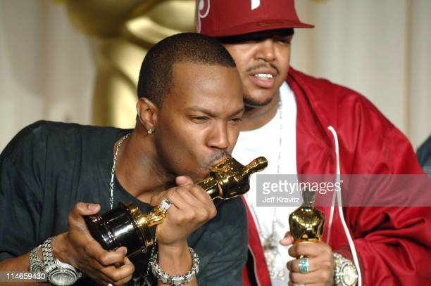 Jordan Houston and Paul Beauregard of Three 6 Mafia winners Best Song for 'It's Hard Out Here for a Pimp' from 'Hustle Flow'