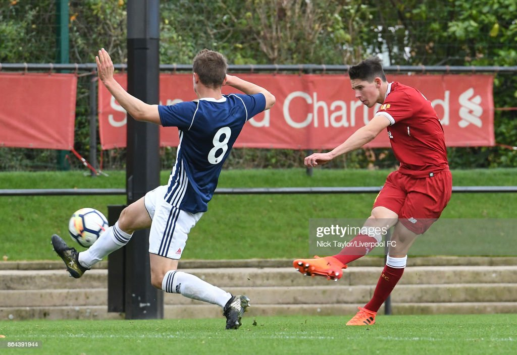 Liverpool v West Bromwich Albion: U18 Premier League
