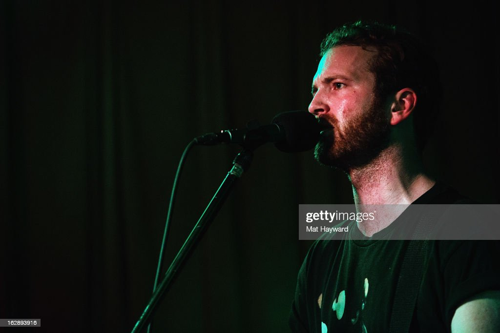 Jordan Jeffares of Snowden performs at Barboza on February 28, 2013 in Seattle, Washington.